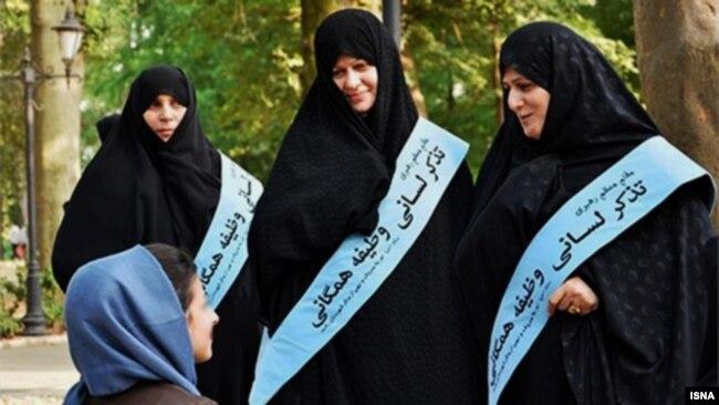 اجرای قانون حجاب اجباری، مهمترین ماموریت پلیس در سالهای اخیر بوده است.