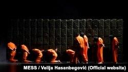 """Predstava """"Naše nasilje, vaše nasilje"""" u režiji Olivera Frljića"""