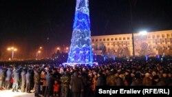 Оштун борбордук аянтындагы салтанат, 31-декабрь, 2012.