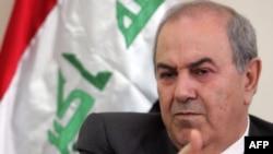 زعيم القائمة العراقية أياد علاوي