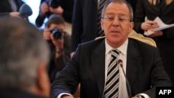 რუსეთის საგარეო საქმეთა მინისტრი სერგეი ლავროვი
