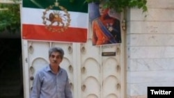 Alireza Gholampour, a fifty-five-year-old resident of Mashhad, has been arrested for supporting monarchism. May 26, 2020.