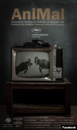 """Bəhmən və Bəhram Ərk qardaşlarının çəkdiyi """"Heyvan"""" qısametrajlı filminin posteri."""