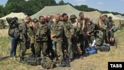Українські військовослужбовці на території Росії, Ростовська область, 4 серпня 2014 року