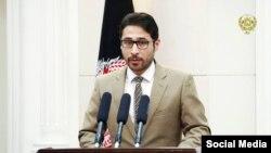 نجیب الله آزاد معاون سخنگوی ریاست جمهوری افغانستان