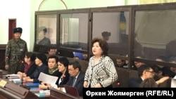 Қуандық Бишімбаевтің ісіне қатысты алдын ала сот тыңдауы. Астана, 31 қазан 2017 жыл.