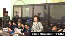 Қуандық Бишімбаевтің ісі бойынша сот отырысы. Астана, 31 қазан 2017 жыл.