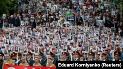 Празднование Дня победы в Ставрополе. 9 мая 2018 года