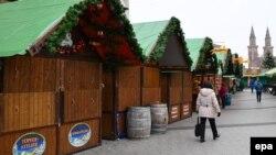 Різдвяний базар у Людвіґсгафені, 16 грудня 2016 року