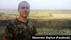 Учасник АТО Олександр Жигун, літо 2014 року
