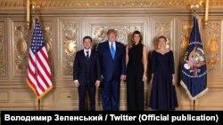 Президент України Володимир Зеленський разом із дружиною Оленою зустрівся з американським президентом Дональдом Трампом і його дружиною Меланією, Нью-Йорк, 24 вересня 2019 року