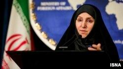 Иран сыртқы істер министрлігінің ресми өкілі Марзие Афхам.