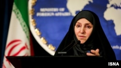 مرضیه افخم، سخنگوی وزارت امور خارجه ایران.