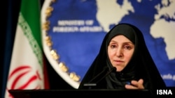 Марзиех Афкам, официальный представитель МИД Ирана.