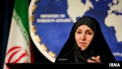 Iranian Foreign Ministry spokeswoman Marzieh Afkham