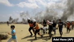 Түркия менен Израилдин ортосундагы дипломатиялык жаңжал 14-майда, Газа секторунда палестиндер менен Израил күчтөрүнүнүн кагылышуусунан кийин тутанган.