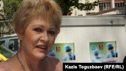 """Людмила Зорина, сотрудник НПО """"Аман-саулык"""". Алматы, 13 мая 2014 года."""