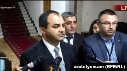 Генпрокурор Армении Артур Давтян, Ереван, 15 мая 2018 г.