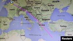 Югалган Egypt Air очкычы үткән юл