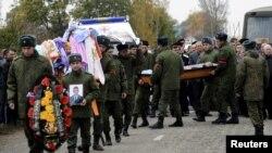 Похороны погибшего в Сирии российского военнослужащего (архивное фото)