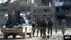 نیروهای مسلح دولت سوریه در منطقه راموسه