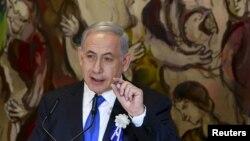 رئيس وزراء اسرائيل بنيامين نتنياهو