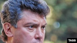 Boris Nemtsov in Sochi before the election