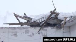 Լեռնանիստում փետրվարի 14-ին փլուզված շինությունը