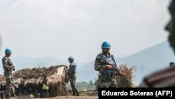 Pjesëtarë të misionit paqeruajtës të Kombeve të Bashkuara në Kongo