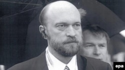 An undated phtograph made available by Interpol showing Sergei Pugachev, who has been described as Putin's banker.