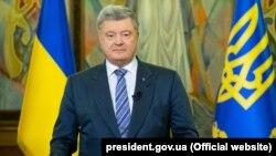 Președintele Ucrainei Petro Poroșenko