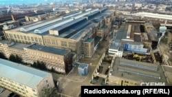 Територія харківського заводу «Турбоатом» займає понад 50 гектарів