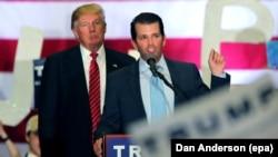 Donald Trump və oğlu