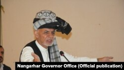 Incumbent President Ashraf Ghani