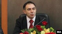 Велимир Стојковски, ректор на универзитетот Св. Кирил и Методиј.