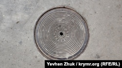 Люк, сделанный на севастопольском заводе Ступина