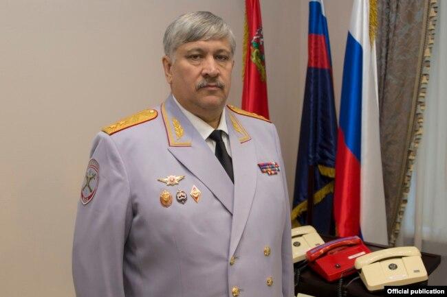 Виктор Пауков, начальник МУ МВД РФ по Московской области