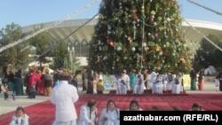 Новогодние торжества, Ашхабад