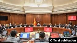 Седница на Владата на Република Северна Македонија.