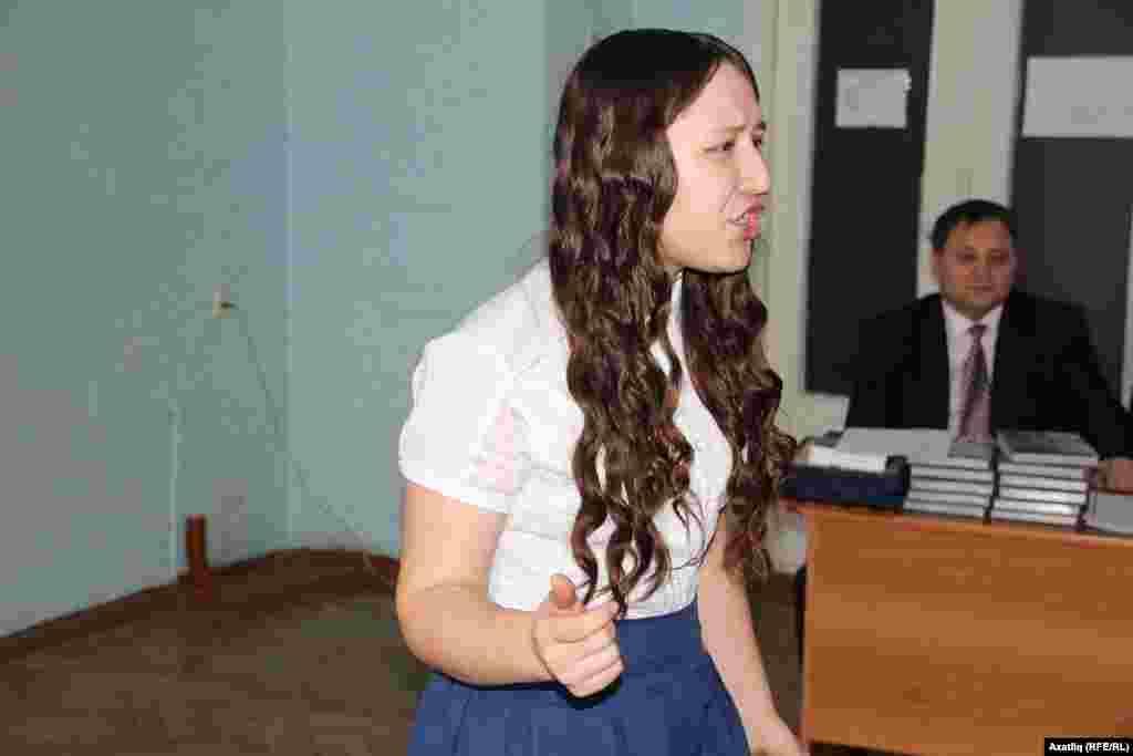 Студентлар арасында икенче урынны алучы Әдилә Абдуллина