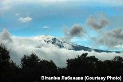Вяршыня Кіліманджара ў Танзаніі