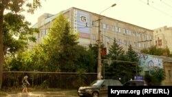 Будівля на вулиці Козлова, 45 в Сімферополі, що належить народному депутату Андрію Сенченку