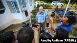 Mehman Aliyev was released from pretrial detention on September 11.