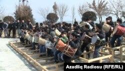Novruz hazırlıqları, Bakı.14Mart 2012