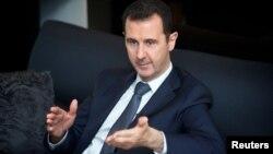 Сирия президенті Башар Асад. Дамаск, 2 қыркүйек 2013 жыл.