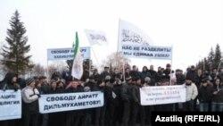 Уфадагы каршылык чарасы, 25 март 2011