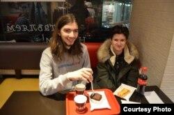 Иван Лузин и Алина Севцова