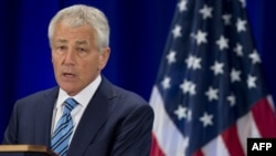 Secretary of Defense Chuck Hagel said the United States is considering whether to arm Syrian rebel forces.