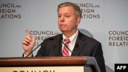 U.S. Senator Lindsey Grahamis on a three-day visit to the Baltics with fellow Senators John McCain and Amy Klobuchar, after which they will travel to Ukraine, Georgia, and Montenegro.