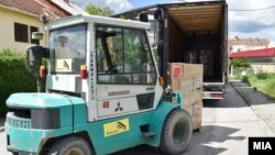 Хуманитарни пакети од семејството Заеви во Струмица